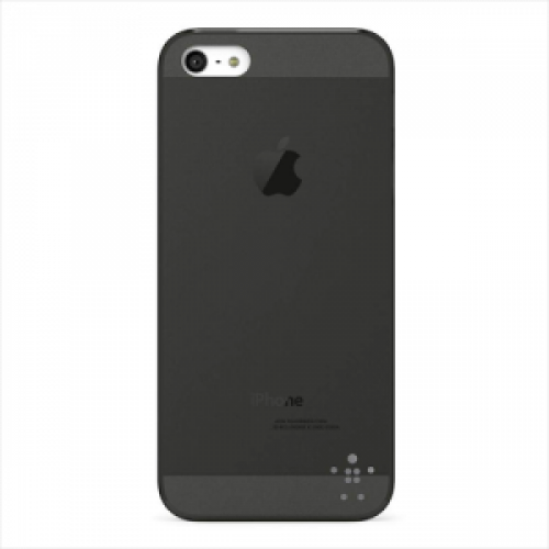 Belkin Micra Fade Luxe for iPhone 5 5s Overcast Blacktop