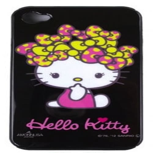 Hello Kitty iPhone 4 Case Big Bows Hair