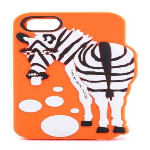 Marc Jacobs Zoody Zebra Raised Case iPhone 5 5s Orange Multi