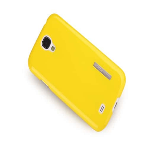 Rock Ethereal Snap Lemon Yellow Case for Galaxy S4
