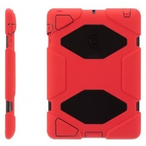 Griffin Survivor Red Black for iPad 2, iPad 3 and iPad (4th Gen)