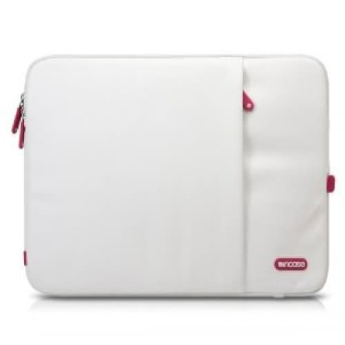 "Incase 15"" White Cranberry Protective Sleeve Deluxe for MacBook Pro"