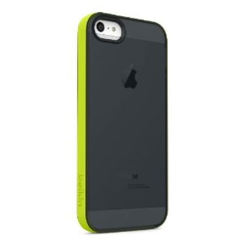 Belkin Grip Candy Sheer for iPhone 5 5s Glow Blacktop