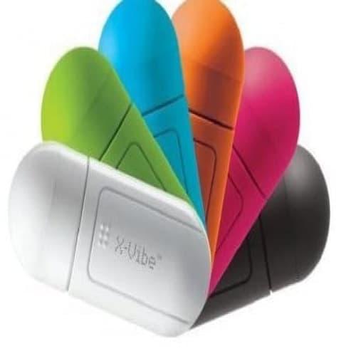 X-Vibe Portable Mini Vibration Vibro Resonance Music Speaker for iPod iPhone Mobile phone