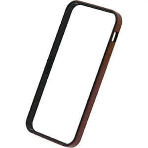 Power Support Metallic Red Flat Bumper Set for iPhone 5
