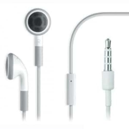 Apple Earphones with Remote and Mic for iPhone, iPod Touch, iPad (MB770G/A)
