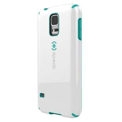 Speck Candyshell Case Samsung Galaxy S5 White Caribbean Blue