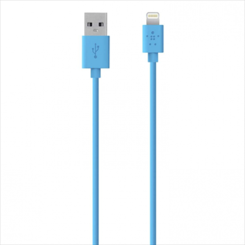 Belkin MIXIT Lightning to USB ChargeSync Cable 4 feet Blue