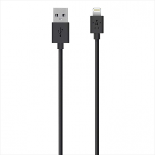 Belkin MIXIT Lightning to USB ChargeSync Cable 4 feet Black