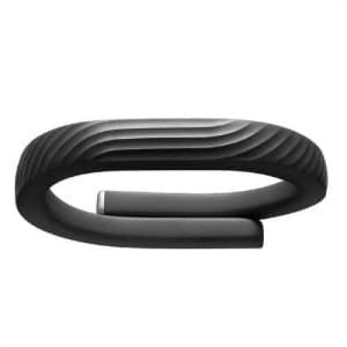 Jawbone UP24 Wireless Activity Tracker Wristband Onyx Black Medium