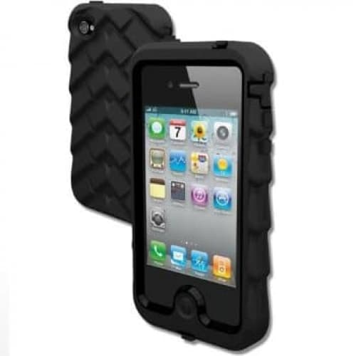 Gumdrop Cases Drop Tech Series Case for iPhone 4 & 4S Black