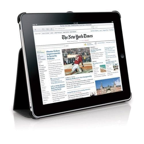 Macally Bookstand Peripherals iPad Case Stand Black