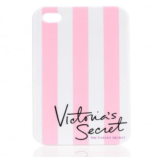 Victoria's Secret VS Stripe Case for iPhone 5 5s Pink