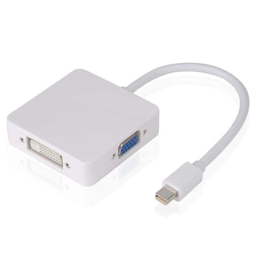 Mini DisplayPort Thunderbolt HD AV Adapter To HDMI VGA DVI for Surface Pro 3 MacBook Air Mac Mini