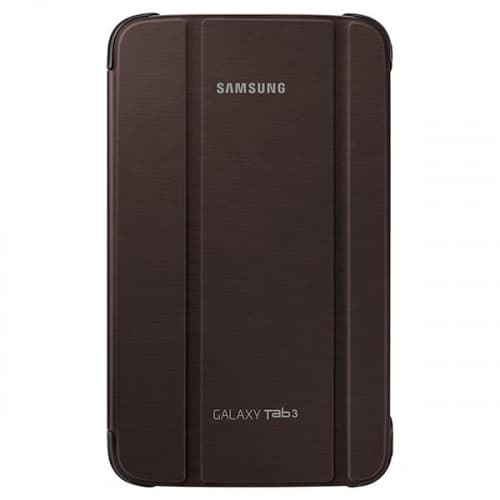 Official Samsung Galaxy Tab 3 8.0 Book Cover Brown