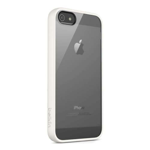 Belkin View Case for iPhone 5 iPhone 5s Clear Whiteout