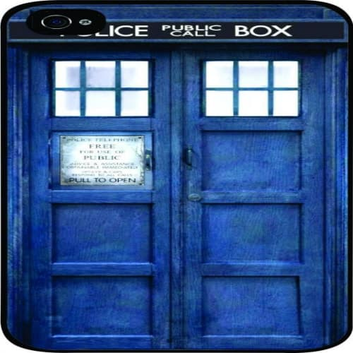 Tardis Doctor Who Police Box Time Machine iPhone 5s Case