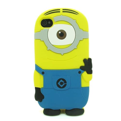 3D One Eye Minion Despicable Me Case for iPod Touch 4 4G 4th Gen