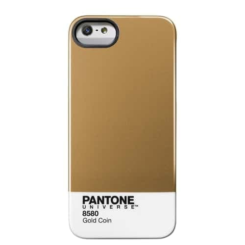 iPhone 5 Pantone Universe case by Case Scenario Gold Coin
