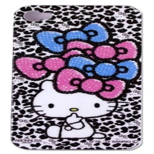 Hello Kitty White Leopard Bows