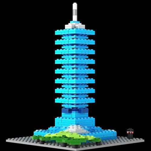 Loz Nano Block Architecture Series Taipei 101