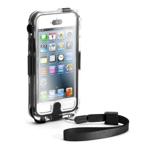 Griffin Survivor + Catalyst Waterproof Case for iPhone 5 Black Clear
