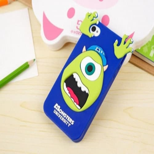 Monsters Inc Alien Case for Galaxy Note 4