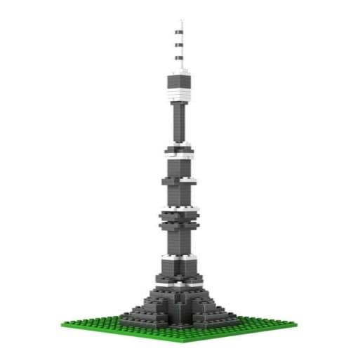 Loz Nano Block Architecture Series Moscow Ostankino Tower