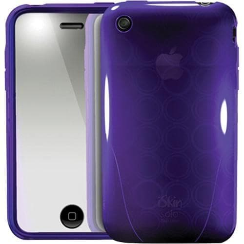 iSkin Solo FX Vive Purple Case iPhone 3G 3GS