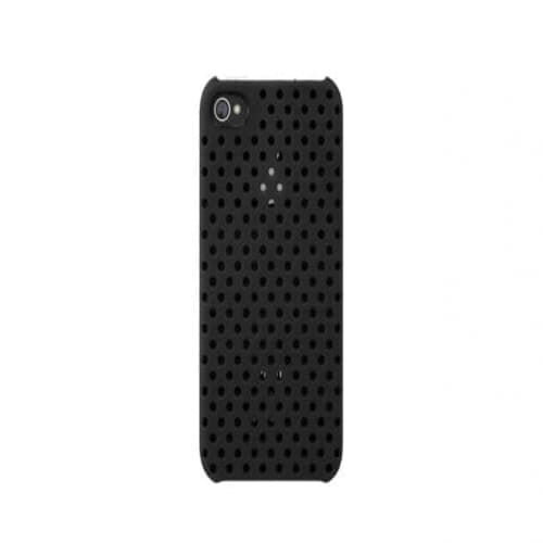 Incase Perforated Black Snap Case for iPhone 4 4S