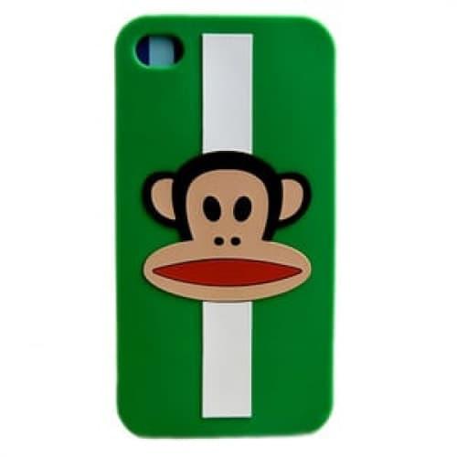 Paul Frank Julius Green Stripe Case for iPhone 4