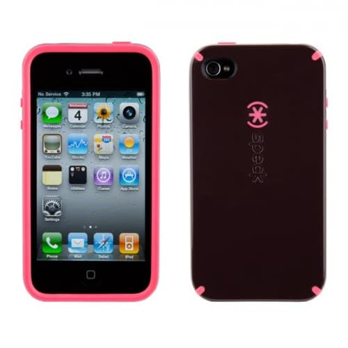 Speck Candyshell DarkHeart Black Case for iPhone 4