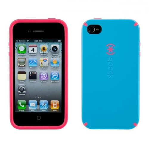 Speck Candyshell Cotton Dandy Blue Case for iPhone 4 4S