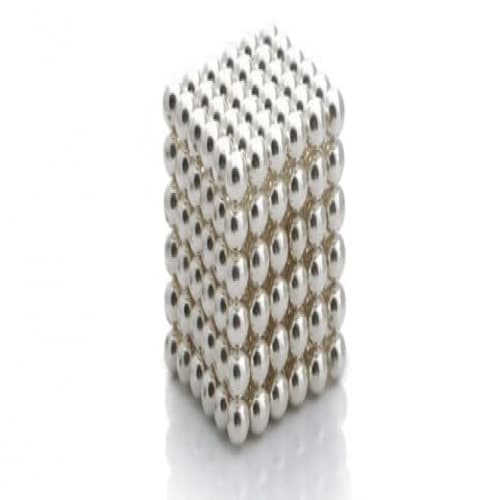 Buckyballs Silver Plated Edition Magnetic Puzzle