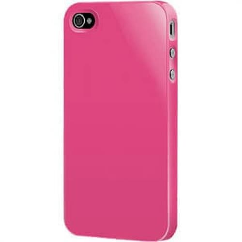 SwitchEasy Fuchsia Pink Nude Plastic Case for iPhone 4