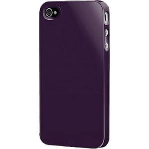 SwitchEasy Purple Nude Plastic Case for iPhone 4