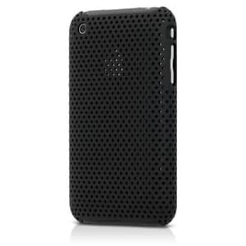 InCase Perforated Black Snap Case for iPhone 3G 3GS