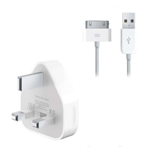 UK Adatper with USB Cable