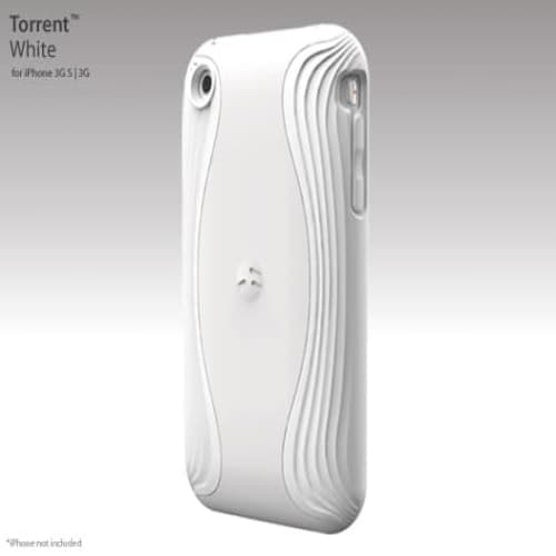 SwitchEasy Torrent White Case for iPhone 3G 3GS