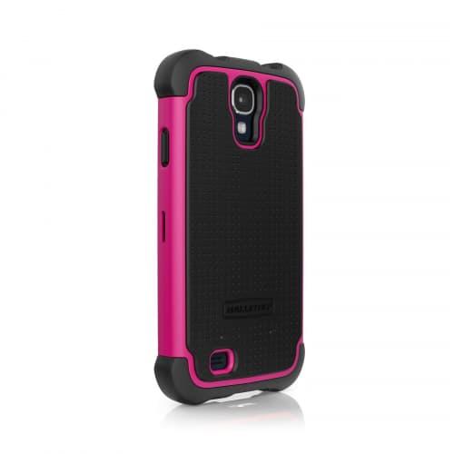 Ballistic Shell Gel for Samsung Galaxy S4 Black Pink