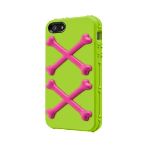 Switcheasy Bones Toxic Lime for iPhone 5