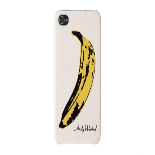 Incase Snap Case Andy Warhol Collection for iPhone 4 (Banana)