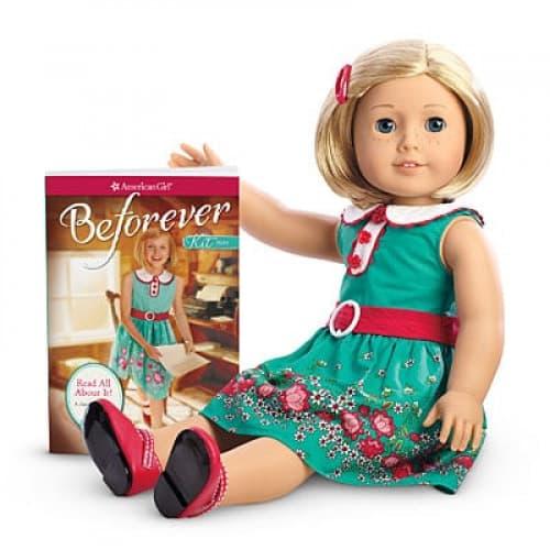American Girl Kit Doll & Paperback Book