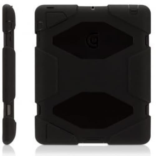 Griffin Survivor Black Black for iPad 2, iPad 3 and iPad (4th Gen)