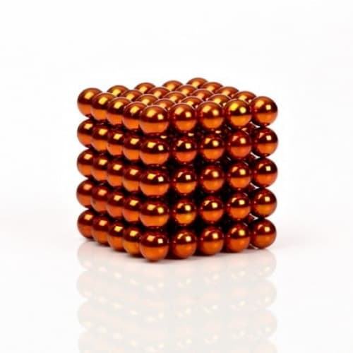 Buckyballs Chromatics 216 Orange Balls