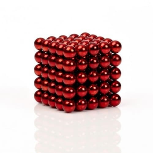 Buckyballs Chromatics 216 Red Balls