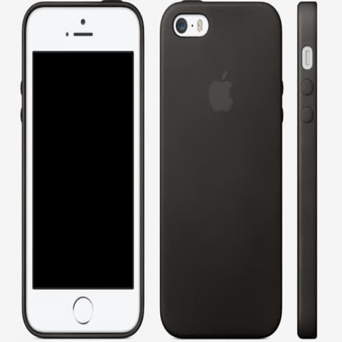 Leather Case for Apple iPhone 5s Case Black