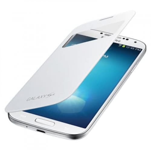 Samsung Galaxy S4 White S-View Flip Cover