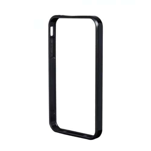 Power Support Black Flat Bumper Set for iPhone 5