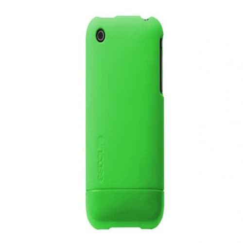 Incase CL59146B Green Fluro Slider Case for iPhone 3GS